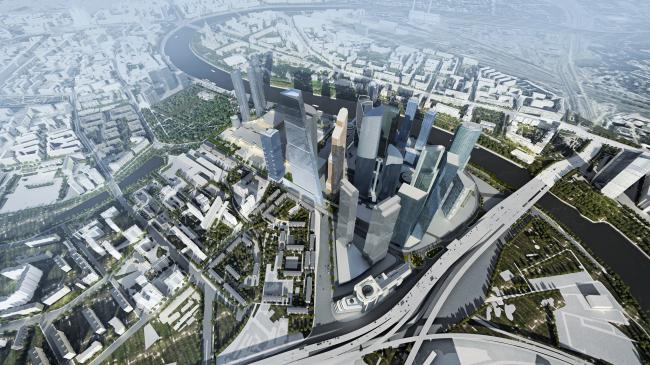 404 М, небоскреб в Сити © Sergey Skuratov architects
