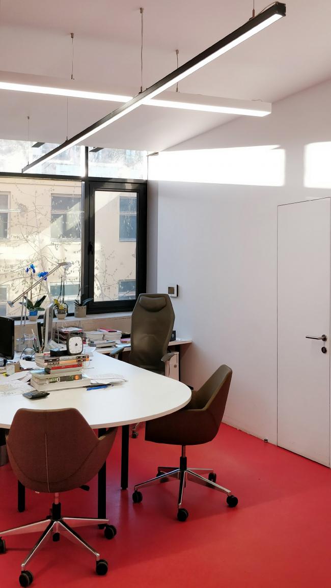 Офис компании ATRIUM. Кабинет. 1 этаж © ATRIUM