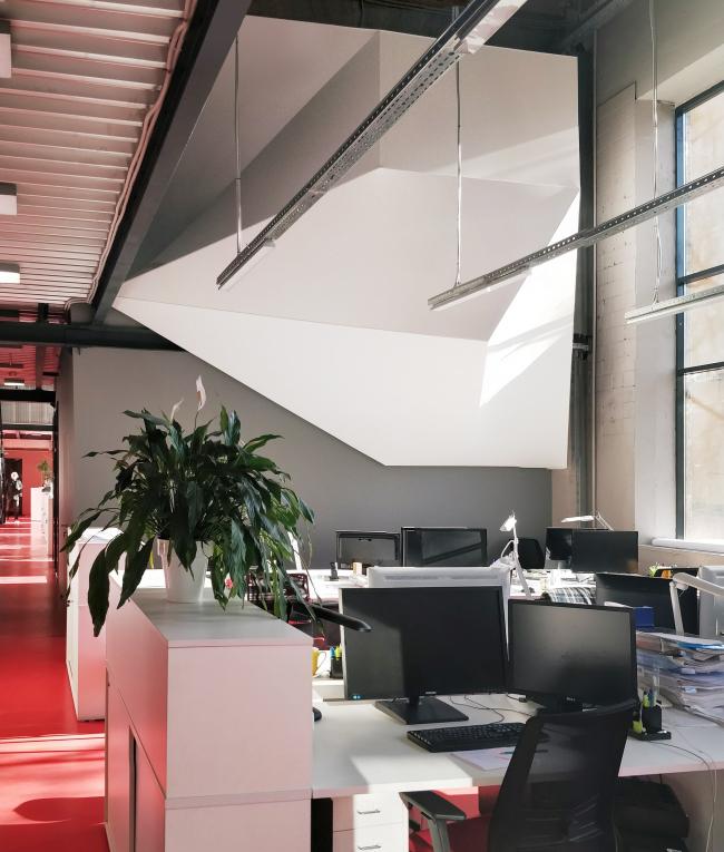 Офис компании ATRIUM. Переговорная. 1 этаж © ATRIUM