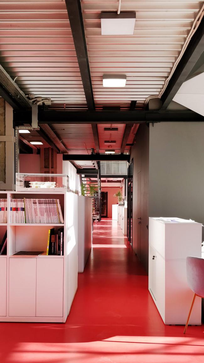 Офис компании ATRIUM. 1 этаж. Пол © ATRIUM