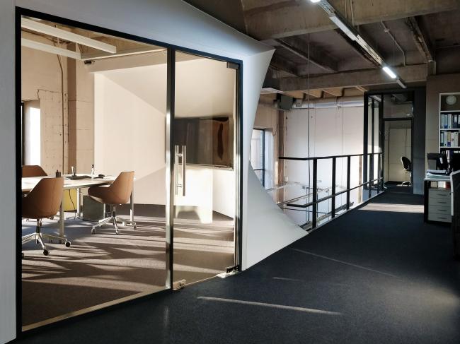 Офис компании ATRIUM. Переговорная. 2 этаж © ATRIUM
