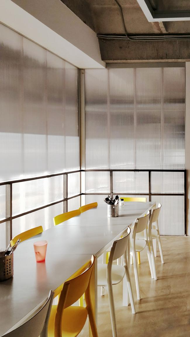 Офис компании ATRIUM. Столовая. 2 этаж © ATRIUM