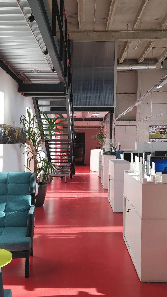 Офис компании ATRIUM. Коридор. 1 этаж © ATRIUM