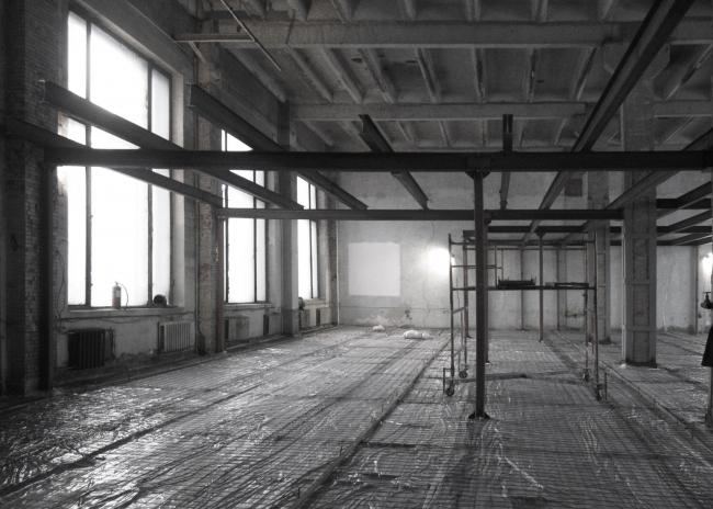 Офис компании ATRIUM: в процессе строительства. Фотография © Сергей Надточий / ATRIUM