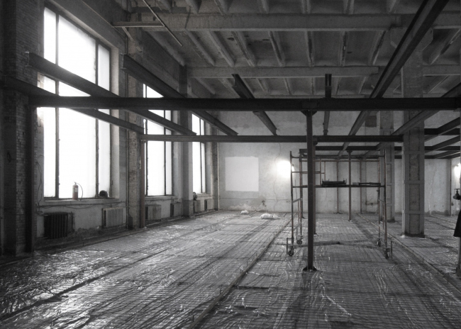 ATRIUM office: in the process of construction. Photograph © Sergey Nadtochiy / ATRIUM
