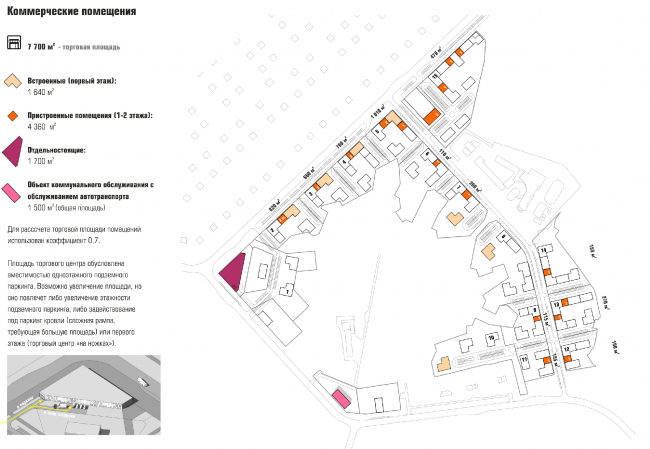 ЖК «Палникс». Коммерческие помещения © Архитектурное Бюро ОСА