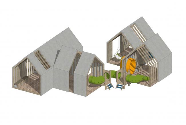 Детский сад «Волшебная долина» © MAParchitects, ГК «А101»