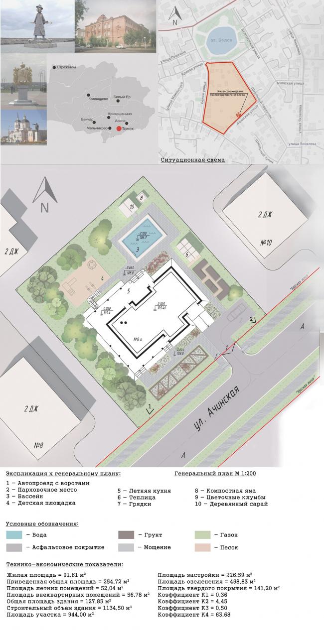 Проект жилого дома «Альпийский бриллиант». Автор: Д.С. Паршуков