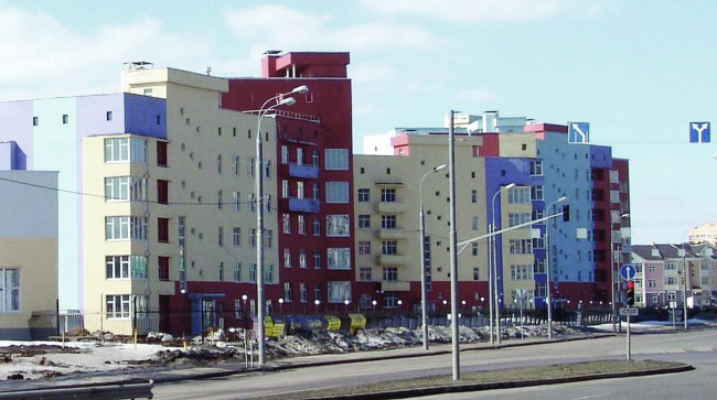 Комплекс жилых домов, Куркино © Архитектурно-дизайнерская мастерская А. А. Чернихова