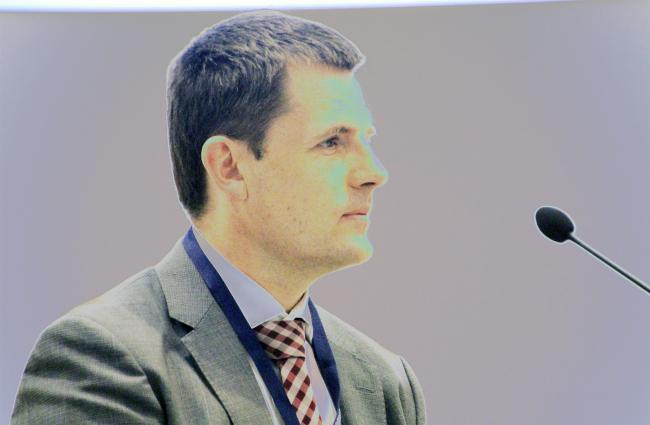 Сергей Кузнецов. Завтрак архитектора на Арх Москве. Фотография Архи.ру