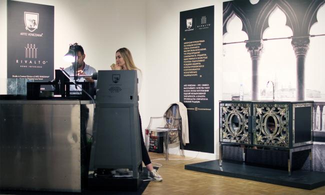 Экспозиция iART, iHEART, iDESIGN, Arte Veneziana & ArchiStudio. Фотография Архи.ру