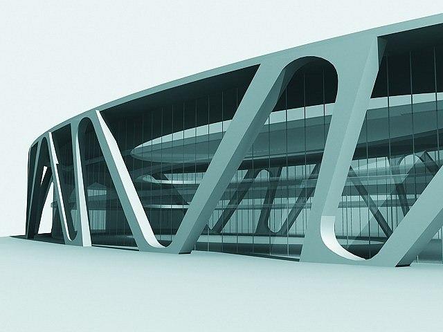 Многофункциональный торговый центр на Ленинском проспекте © Архитектурно-дизайнерская мастерская А. А. Чернихова