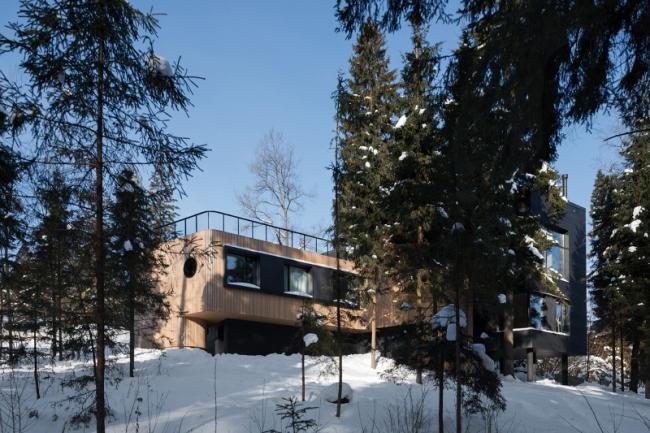 Дом KINO © LeAtelier: Сергей Колчин, Антон Архипов, Надежда Торшина