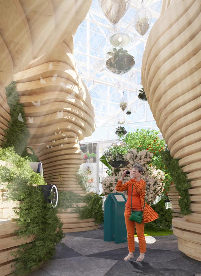 Центр растениеводства (Санкт-Петербург).  Архитектор-дизайнер Альбина Давлетшина