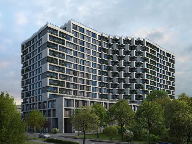 Многофункциональный комплекс с апартаментами.  ABD Architects и девелоперская группа «Сити XXI Век» (Москва)
