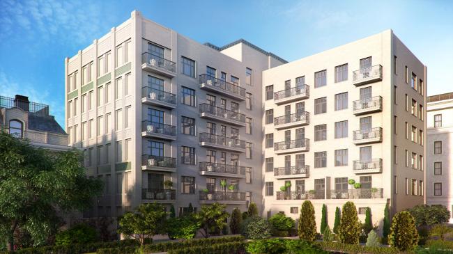 Комплекс апартаментов премиум-класса «Резиденция Покровском бульваре». Компания «Лидер Инвест»