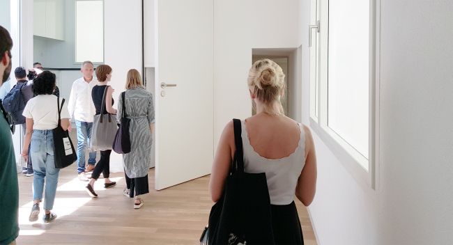 Павильон Швейцарии, Золотой Лев биеннале 2018. Фотография Архи.ру