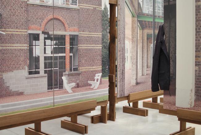 Проект Caritas Видлер Винк Тайо, Серебряный лев в кураторской экспозиции биеннале 2018. Фотография Архи.ру