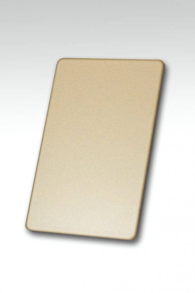 Панель ALUCOBOND® Anodized Look C2 Light Gold. Изображение предоставлено 3A Composites
