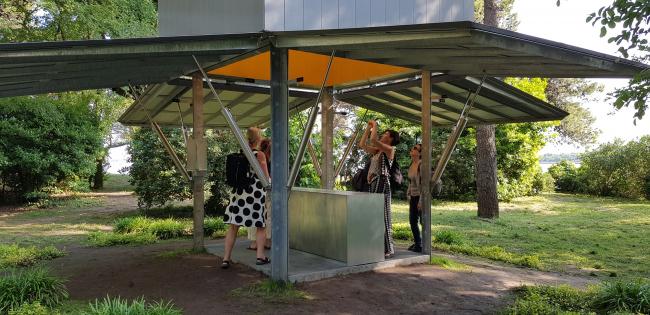 Шон Годсел Перемещаемая капелла / Relocatable Chapel. Фотография: Юлия Тарабарина, Архи.ру