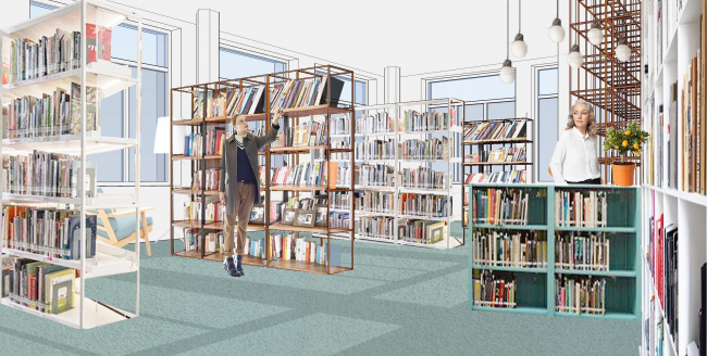 Библиотека №106 © Татьяна Скибо