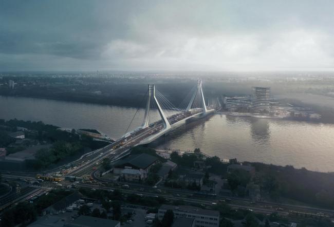Мост через Дунай в Будапеште. Изображение © VA-Render.com