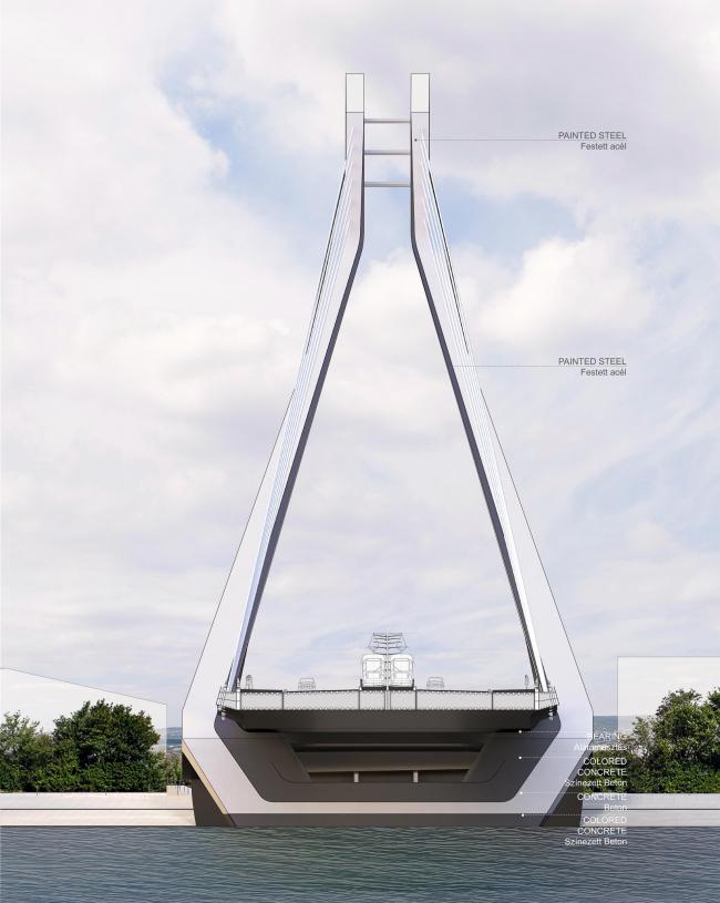 Мост через Дунай в Будапеште. Изображение © UNStudio