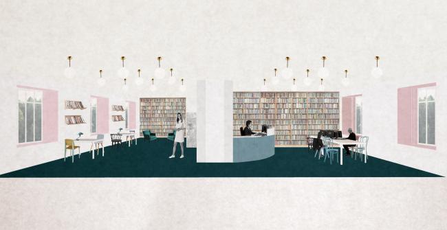Детская библиотека №178 им. Агнии Барто. Взрослый абонемент. Автор проекта: Н. Жернакова