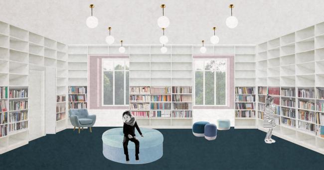 Детская библиотека №178 им. Агнии Барто. Детский абонемент. Автор проекта: Н. Жернакова