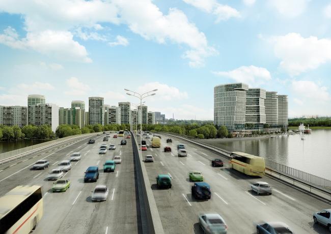 МФК на Ленинградском шоссе, вл. 69 © ТПО «Резерв»