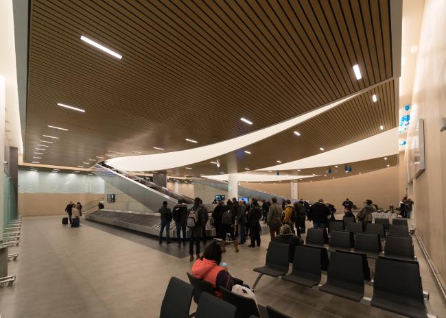 Аэропорт «Платов», Ростов-на-Дону. Фотография предоставлена Twelve Architects