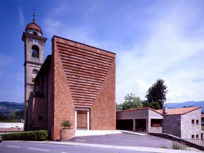 Марио Ботта. Церковь Сант'Антонио в Дженестрерио
