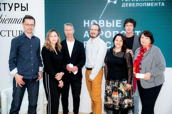 Участники круглого стола «Новые аэропорты России».