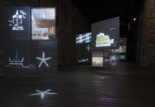 """""""Renzo Piano. Progetti d′aqua"""". Fondazione Emilio e Annabianca Vedova. Venezia, 2018. Ph Paolo Utimpergher, Venice"""