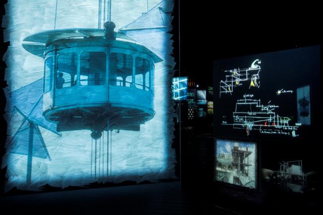 """""""Renzo Piano. Progetti d′aqua"""". Fondazione Emilio e Annabianca Vedova. Venezia, 2018. Ph Studio Azzurro, 2018"""