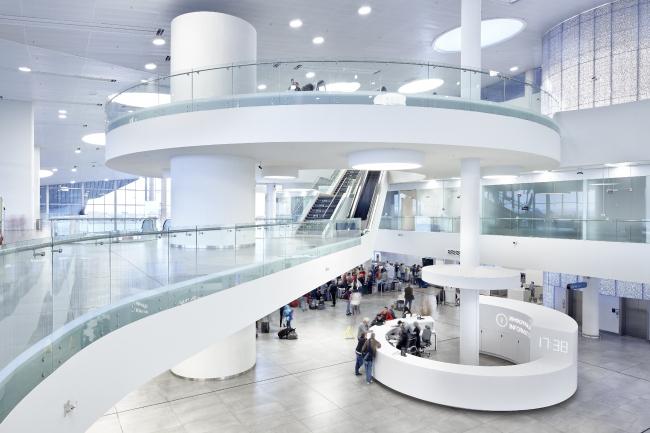 Аэропорт Курумоч в Самаре. VOX Architects. Фотография предоставлена агентством  «Правила Общения»