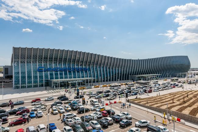 Аэропорт в Симферополе. UNK project. Фотография предоставлена агентством  «Правила Общения»