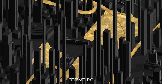Павильон «Станция Россия» на XVI Архитектурной биеннале в Венеции © Citizenstudio