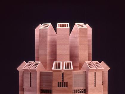 Марио Ботта. Церковь Санто Вольто в Турине. Макет