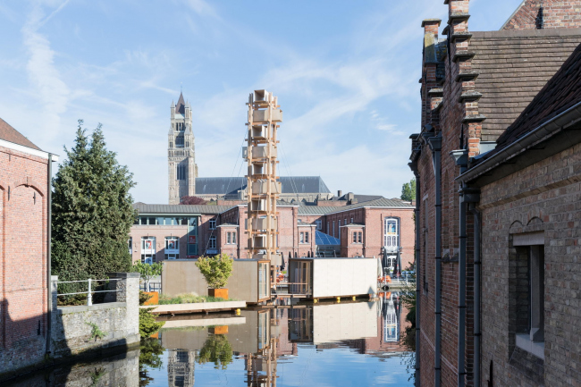 Infiniti²³. Петер ван Дрише. Фото © Iwan Baan. Предоставлено Triënnale Brugge 2018