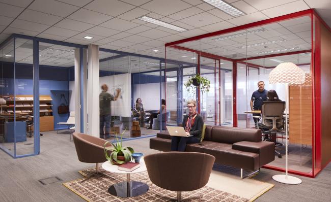 Организационная культура компании – основа для создания эффективного рабочего пространства © Haworth