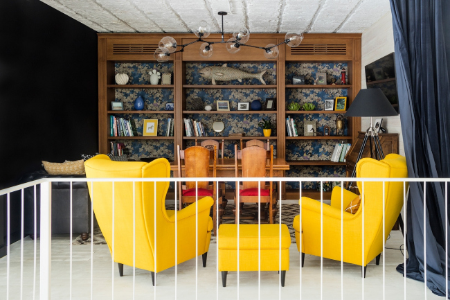 Офис Arteza / Архитектурное бюро ARCH.FUNK. Библиотека