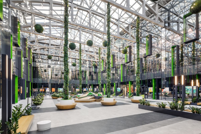Бизнес-центр Neo Geo / Архитектурное бюро T+T Architects