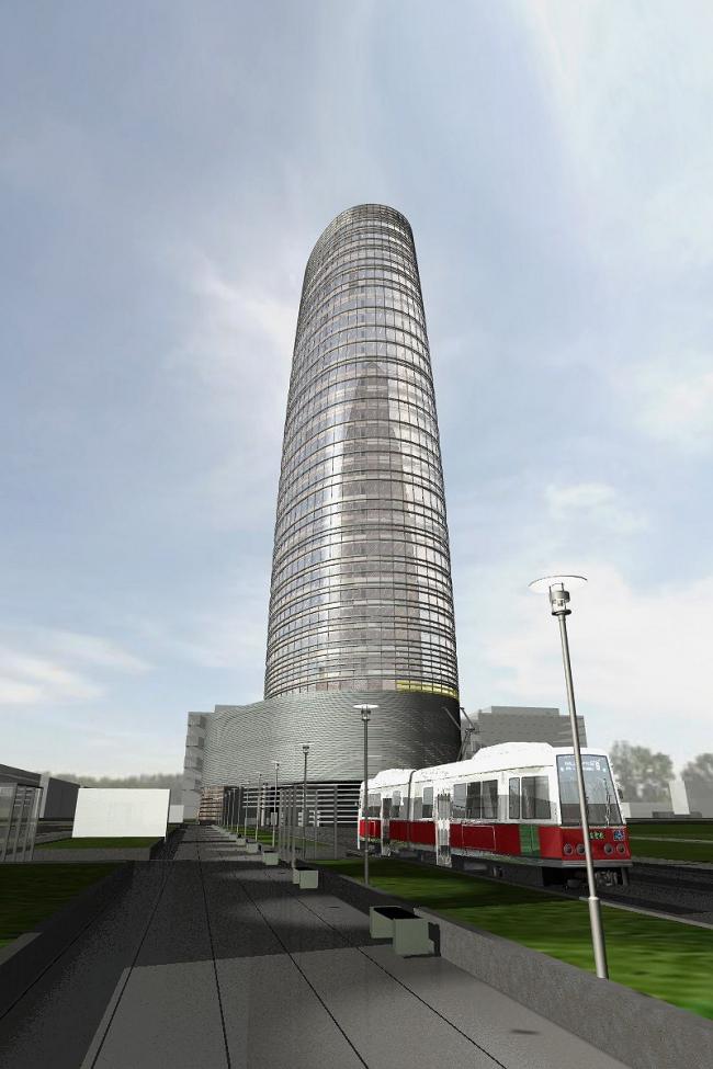 Офисно-торговый центр на Ленинградском шоссе © ABD architects