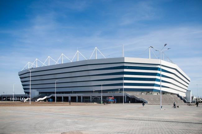 Стадион в Калининграде. Фото: Dmitry Rozhkov via Wikimedia Commons. Лицензия CC BY-SA 3.0