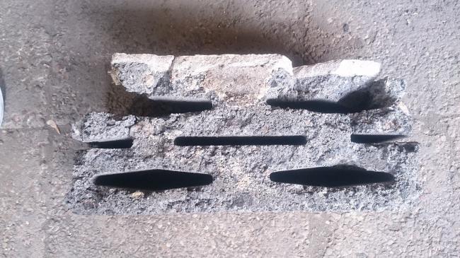 Дом Наркомфина. Камень «Крестьянин». Предоставлено Гинзбург Архитектс