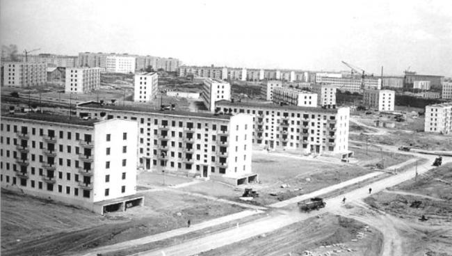 Construction of Vernadskogo Avenue © Ostozhenka