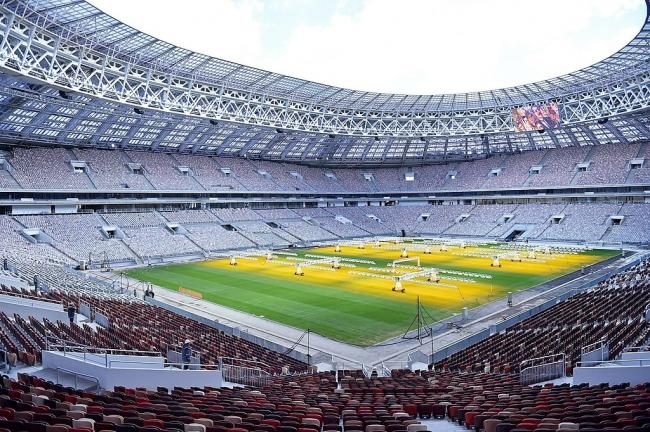 Стадион «Лужники». Фотография предоставлена Компанией Славдом