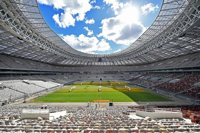 Стадион «Лужники». Фото: Mos.ru via Wikimedia Commons. Лицензия CC BY 4.0