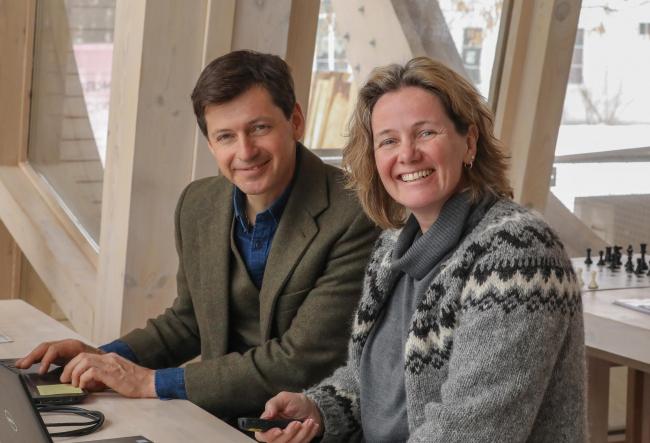 Джеймс и Хелен Бассон. Фото © Андрей Лысиков